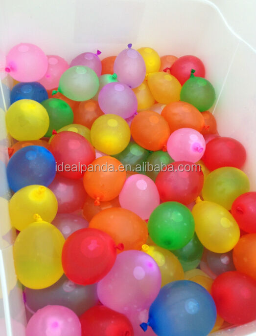 Hundreds small colorful water balloons toy Hot sale in USA EU