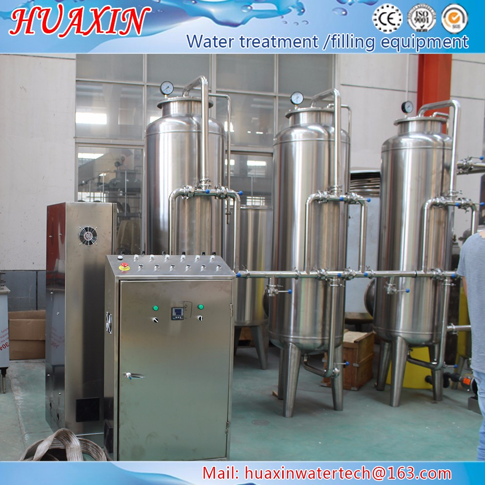 RO-5 Factory price 5000BPH drinking mineral water plant machinery cost