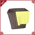 Daily use woven rattan laundry baskets for storage living room hotel bathroom basket