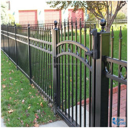 Custom height and colors luxury standard outdoor dog fence