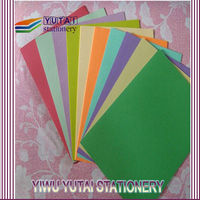 Yiwu a4 colored construction paper