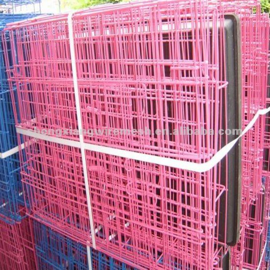 galvanized or pvc coated welded Pet Cages for dog (factory)