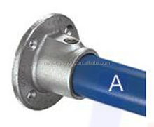 Hot galvanized cast iron flange fittings key clamp