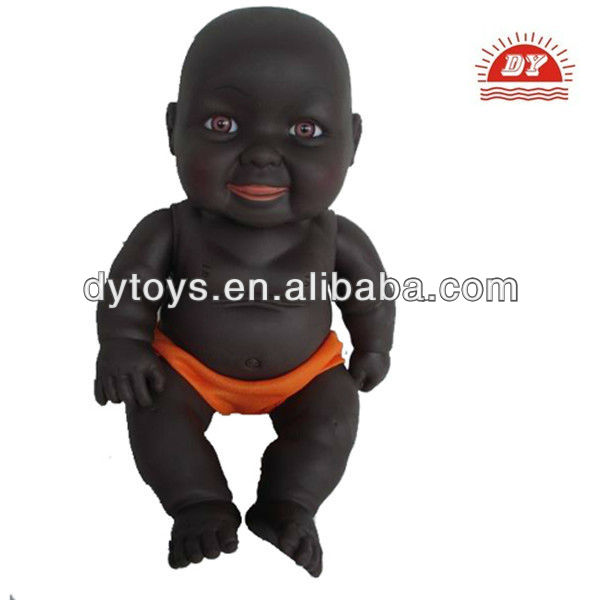 customized black silicone reborn baby dolls