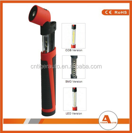 Extenable 120LM Dry Battery Foldable Retractable LED Inspection Light