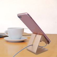 for iphone mobile phone holders display stand metal folding aluminum Adjustable tablet PC mobile phone stand