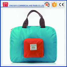 Waterproof nylon folding sport bag high quality sport foldable travel bag wholesale