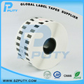 Compatible Continuous Thermal Paper DK-22225 Sticker Labels DK22225 for Brother 38MM*30.48m Black on white