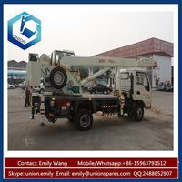 Top Quality Mini Truck Mounted Crane 10ton With ISO9001