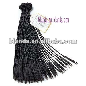 New Micro Braid Weave Handtied Human Hair Weft