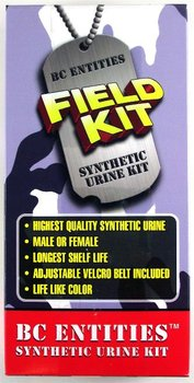 Field Kit Synthetic Urine Shelf Life