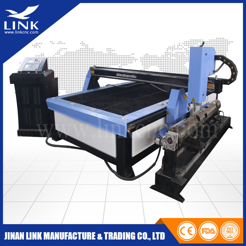 Factory supply FASTCAM software rotary axis metal sheet plasma cutter/CNC plate Cutting Machine&cnc industrial plasma cutter