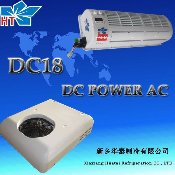 12v/24v DC power air cooling unit truck split air conditioner electric air conditioning systems