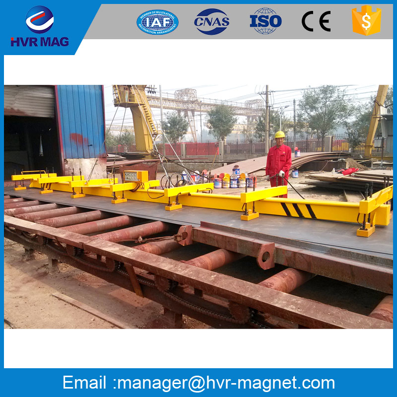 2mm thin steel plate handling equipment electro permanent lifting magnet