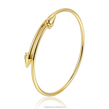 Jewelry Women Latest Design Gold Plated Charm Bracelet Adjustable Bangle Bracelet Anchor Bracelet