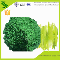 Green color resistance cr2o3 amphoteric metal oxidation chrome oxide green coating cr2o3