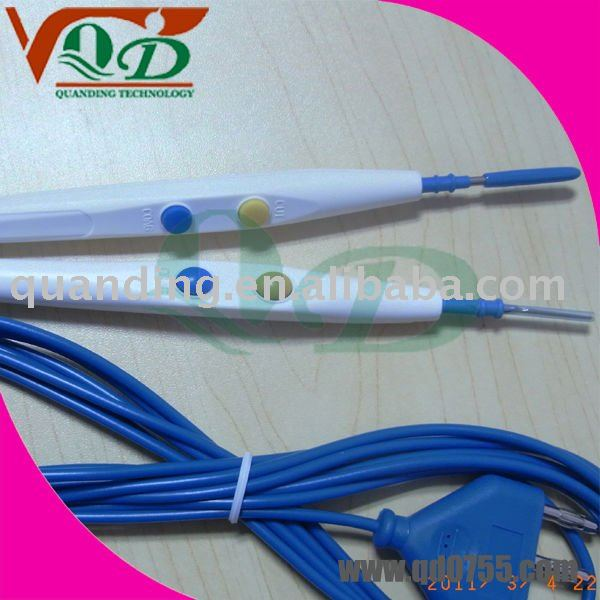 -dental products Disposable medical electrosurgical plate and pencil(ESU Pencil) with CE,FAD,ISO13485
