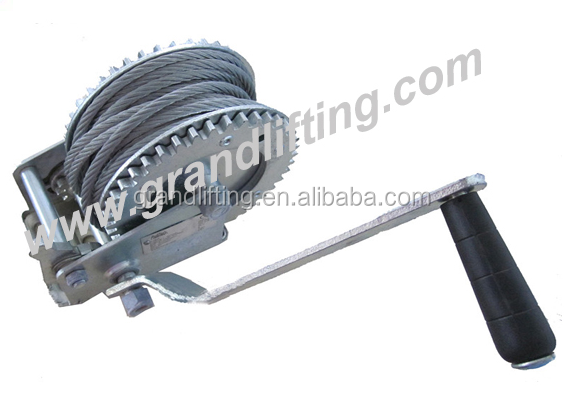 Foshan Manual anchor winch sale boat hand winch