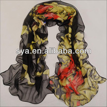 Handmade 2014 soft chiffion scarf for women