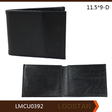 China factory wholesale custom purse,custom men wallet wholesale man leather wallet