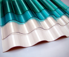 Factory price polycarbonate corrugated plastic roofing sheets