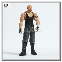 Plastic movable action figure,create own design figurine,factory custom plastic human action figure
