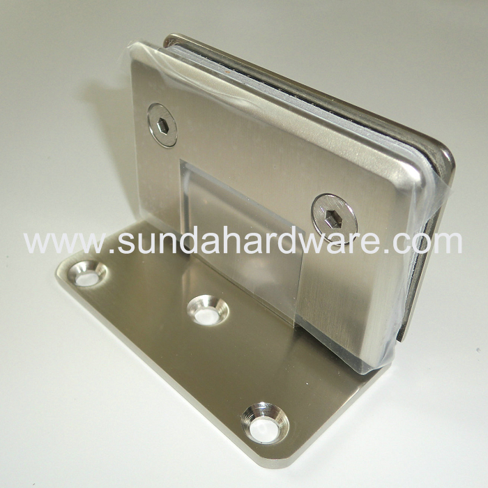 New Design Stainless Steel Shower Hinge for Bathroom Glass Door
