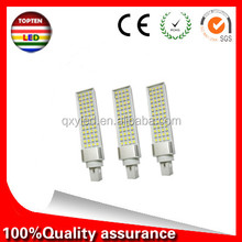 140lm/w E27 G24 G23 7W 9W 11W 13W 15W 110V 220V 240V Horizontal Plug lamp SMD2835 Bombillas LED PL Corn Bulb Spot light Lighting