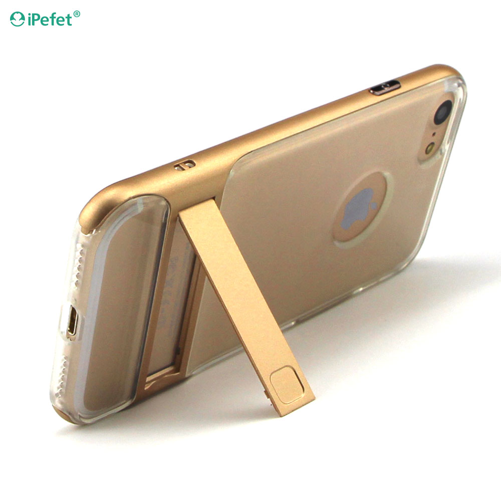 OEM/ODM Factory Directly Colorful Kickstand mobile phone accessories for iphone 6 case 2 in 1