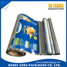 Free sample Big Discount Laminated Aluminium Foil Flexible Wrapping Plastic Potato Chips Packaging Roll Film