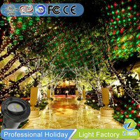 Christmas decoration twinkle star outdoor laser projector