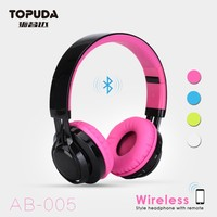 Cheap mobile phone bluetooth stereo mp3 foldable headset