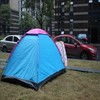 inflatable camping family hiking car roof top tent camping tent