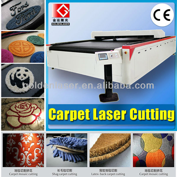 Car Carpet Laser Cutter for Car Floor Mat Cutting and Carving