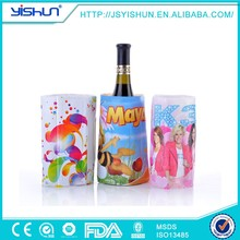 soft sided bottle cooler bag,cute stand-up beer bottle cooler,nylon single bottle cooler bag