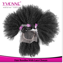 Aliexpress yvonne hair store lace closure with bundles