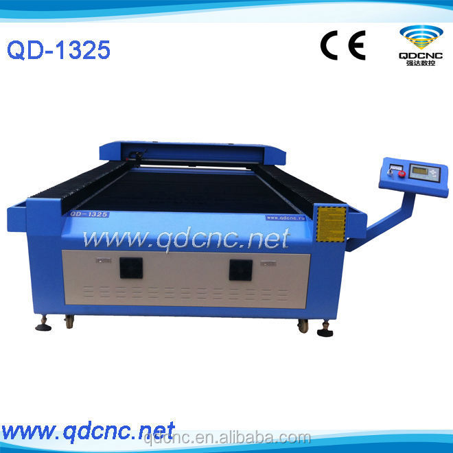 China 2016 best sale QD-1325 acrylic sheet laser cutting machine/used laser cutting machines for sale/laser cut wood shapes 1325