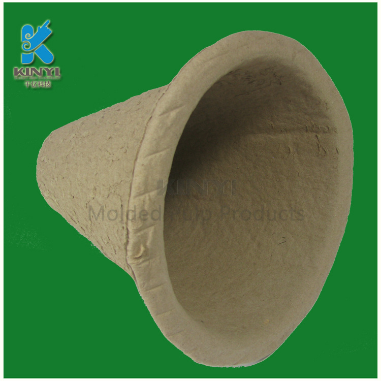 Biodegradable waste paper pulp barrel wholesale