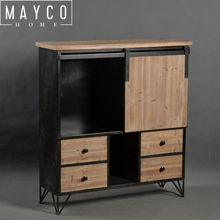 Mayco Multi Drawer Free Stand Wooden Cabinet