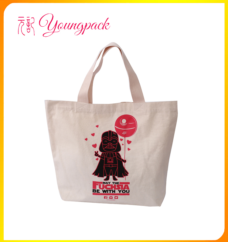 High Quality Promotional Custom Cotton Fabric Bag