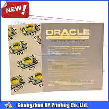OEM printing factory coupon booklet printing
