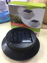 HH24G Solar UFO fence light tulip lawn led outdoor monted garden lamp light