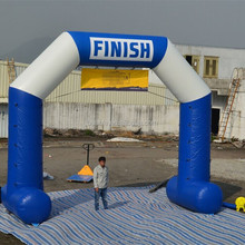 popular inflatable arch advertising inflatable finish line arch for sport event