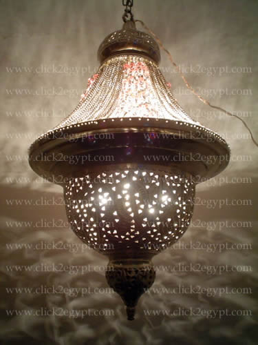 Antique style silver plated beaded brass chandelier lighting