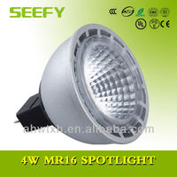 UL/CE/PSE 4W MR16 GU5.3 LED Spotlights Dimmable replace 25w halogen