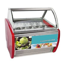 Superior performance gelato display case ice cream display freezers price