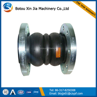 double sphere flanged expansion rubber joint