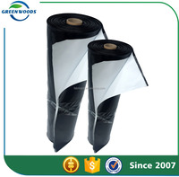 high quality 10 ft. x 100 Black and White Poly Film Roll Sold On Alibaba