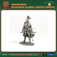 High quality ancient soldier figures custom made miniature metal figures