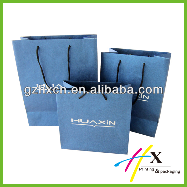 deluxe jewelry and watch packaging Paper Bag